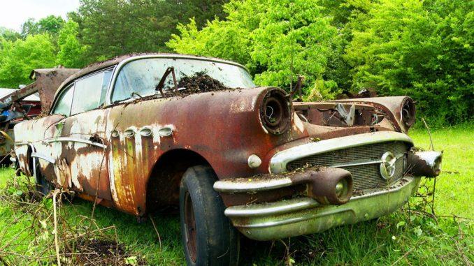 Roadkill's Junkyard 1956 Buick Hack