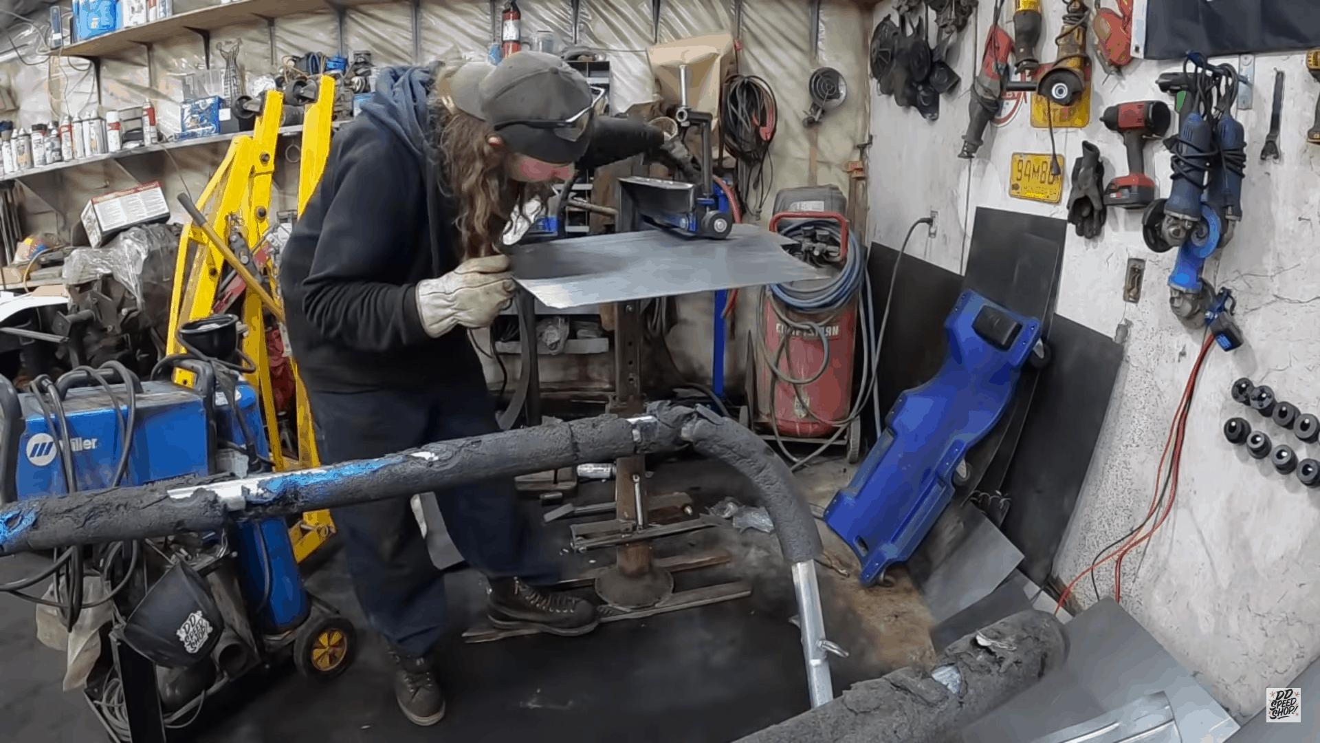 Scratch-Building Hot Rod Floor Pans