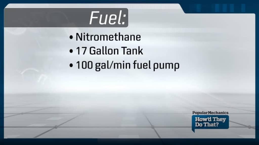 Top Fuel Dragster Fuel