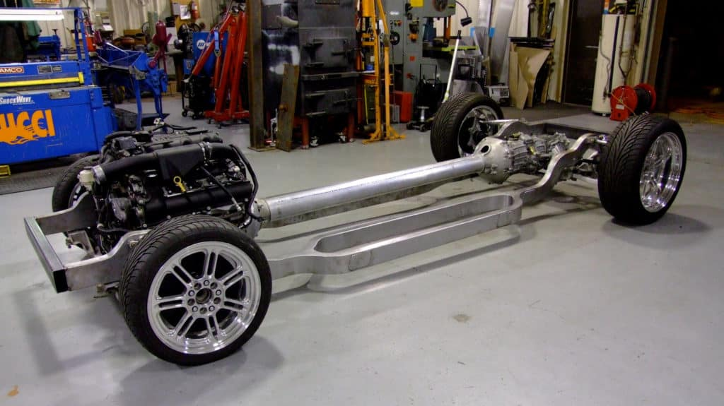 1941 Cadillac 2-Door Coupe Supercharged 500 HP XLR-V Northstar Build ~ Rolling Chassis