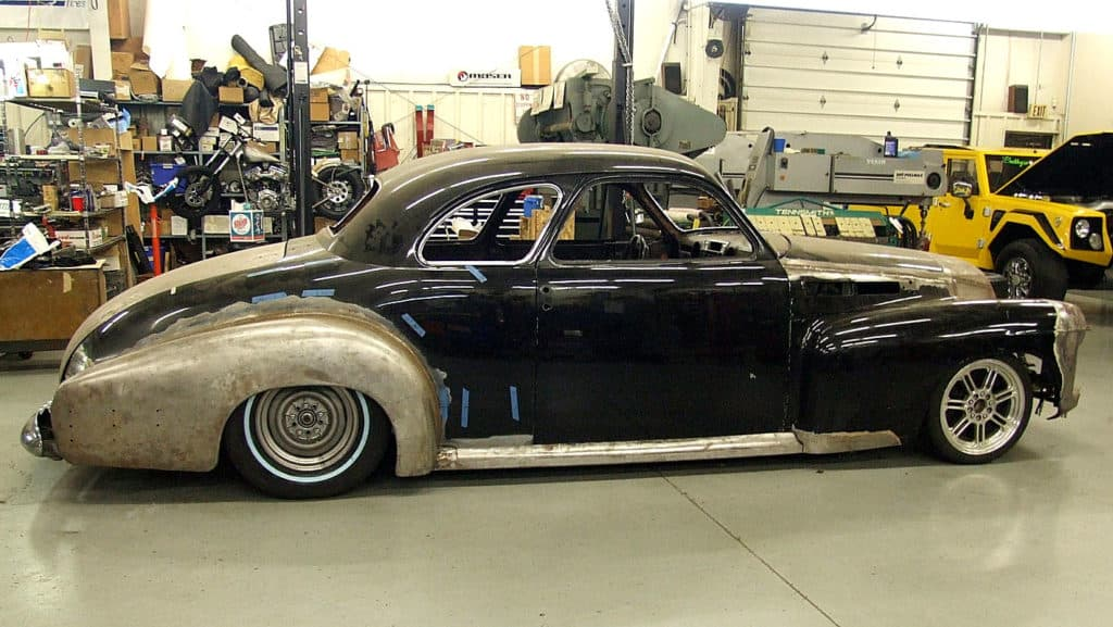 1941 Cadillac 2-Door Coupe Supercharged 500 HP XLR-V Northstar Build ~ Side Profile