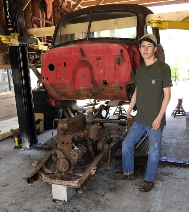 1952 Chevrolet 3100 Body Chassis Swap Donor