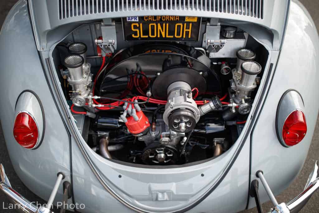 1963 Volkswagen Beetle Engine Compartment ~ Larry Chen Photo