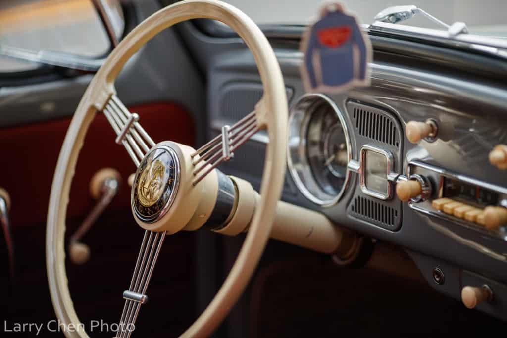 1963 Volkswagen Beetle Interior ~ Larry Chen Photo