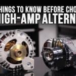 High-Amp Alternators