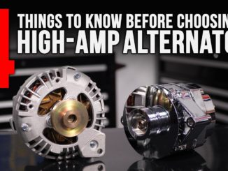 High-Amp Alternators