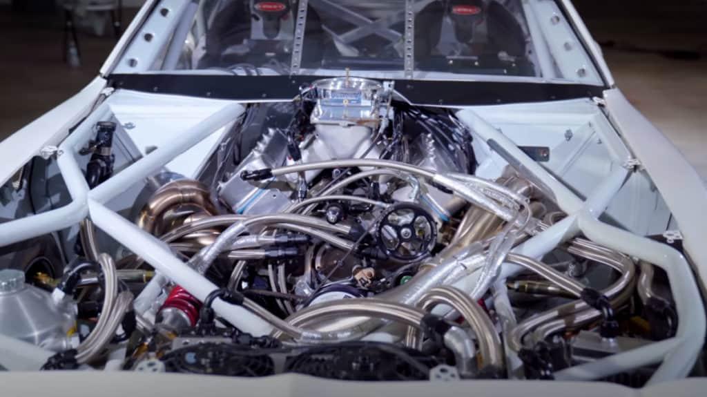 Amateur-Built 1000hp Custom Trans Am ~ Engine Bay