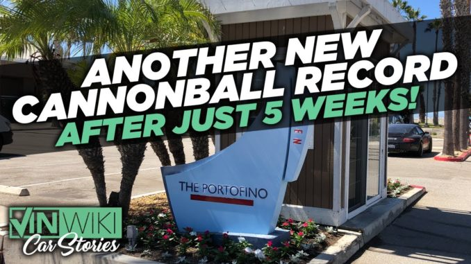 There's ANOTHER New Cannonball Record*