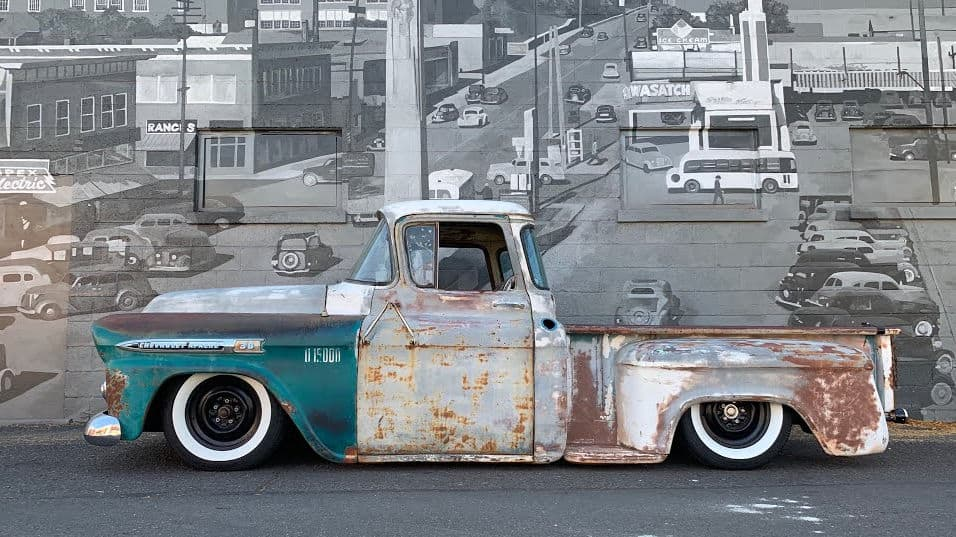 Hater Bait ~ Casey Loter's Tesla Swapped '58 Chevy Apache