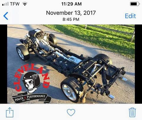 Chevrolet SSR Rolling Chassis Donor