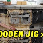 DIY Wooden Body Tip-Over Jig