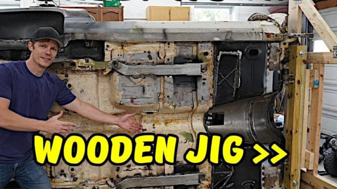 DIY Wooden Body Tip-Over Jig