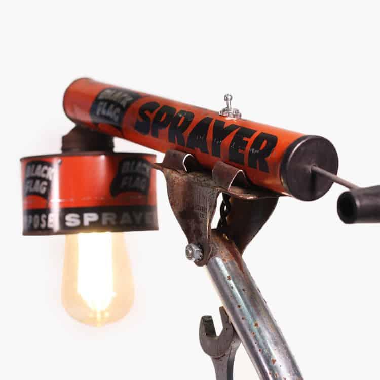 Derek McDonald Artworks Tool Time Lamp