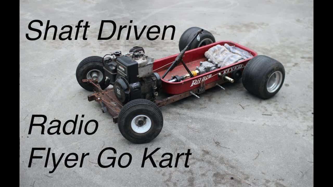 Building a Radio Flyer Rat Rod Wagon
