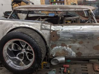 Rough Cut ~ A Radical 1957 Chevy Bel Air Rat Rod
