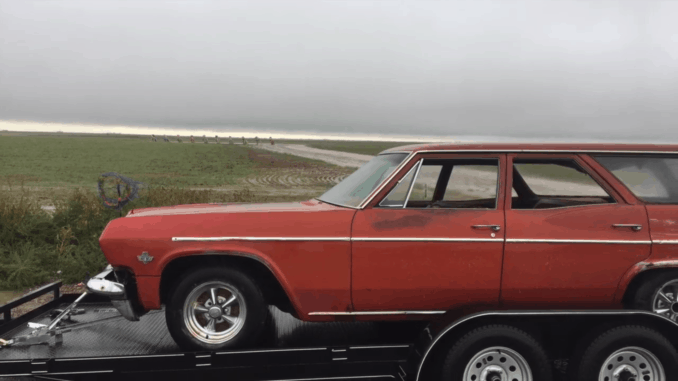 The Tale of a Weathered '65 Bel Air Wagon