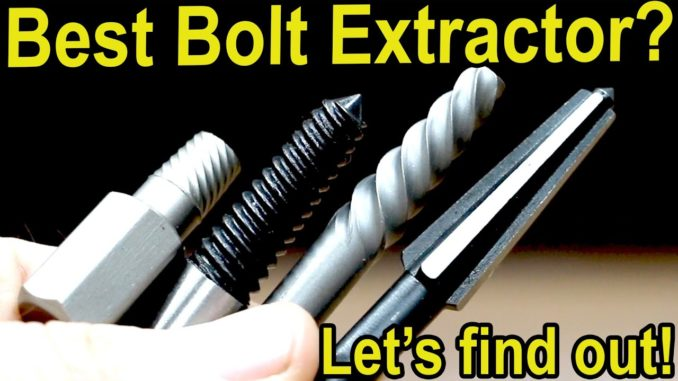Screw and Bolt Extractors