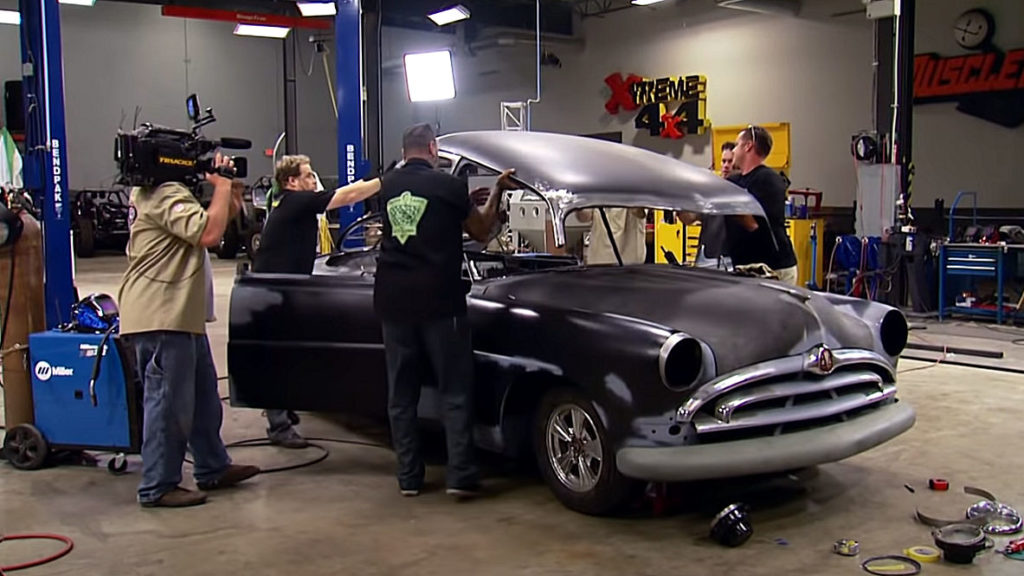 1951 Hudson Hornet Project Car Chop Top