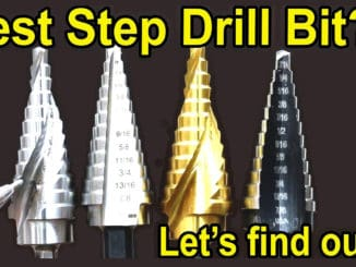 Best Unibit Step Drill Bits