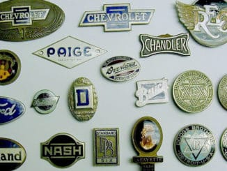 Automotive Emblems, Badges, Insignia, Nameplates