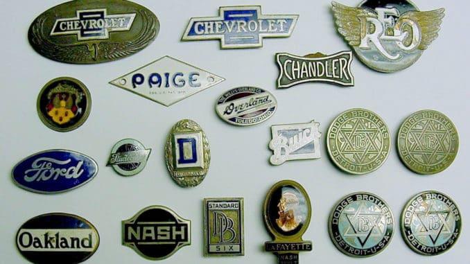 Automotive Emblems, Badges, Insignia, Nameplates