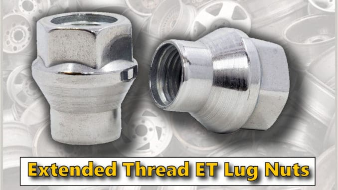 Extended Thread ET Lug Nuts