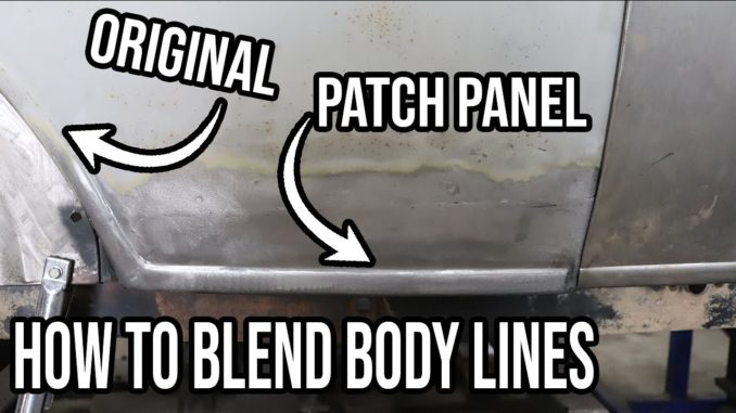 Patch Panel blended Into factory body lines