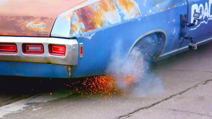 Roadkill vs Mighty Car Mods Best Burnouts