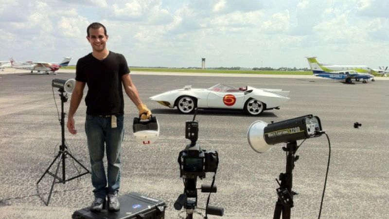 The Real Speed Racer Mach 5 ~ Photo by Douglas Sonders