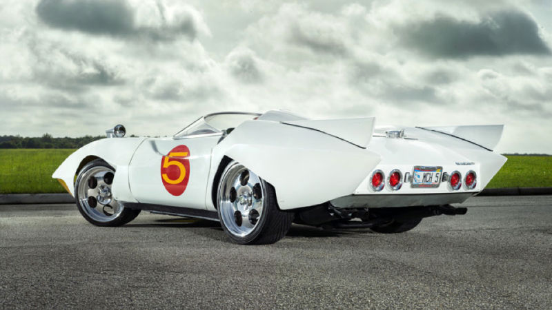 The Real Speed Racer Mach 5