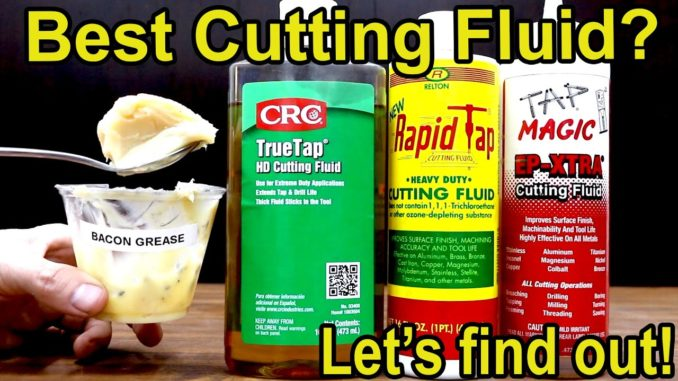 Cutting Oils for Drilling Metal