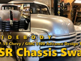 1947-54 Chevrolet 3100 Widebody Chevy SSR Chassis Swap