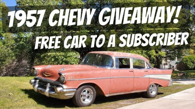 1957 Chevy Bel Air Giveaway Car by DD Speed Shop