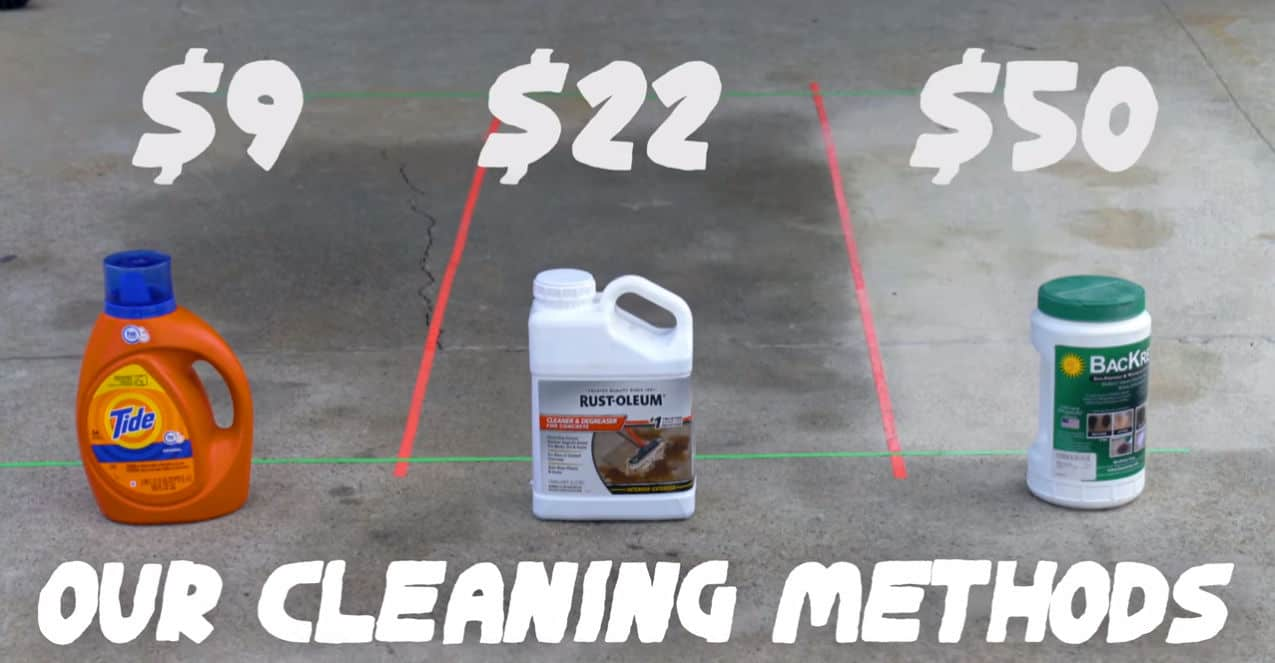3 Diy Driveway Cleaning Methods To
