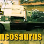 Broncosaurus Rex Bronco Custom Rat Rod
