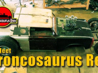 Broncosaurus Rex Bronco Custom Rat Rod