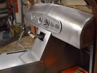 Making a Custom Dash, Gauge Panel, and Console for a 1937 Rat Rod