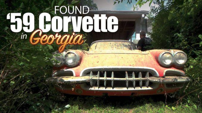 One-Owner 1959 Chevrolet Corvette Fuelie