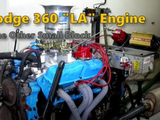 Dodge 360 LA V8 Engine