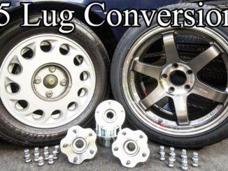 Easy DIY 4 Lug to 5 Lug Hub Conversion for Cars and Trucks