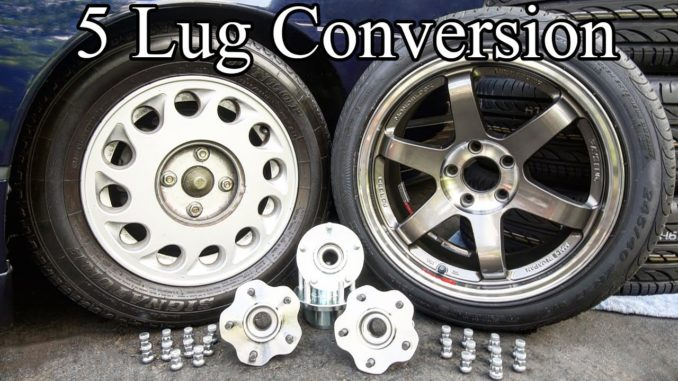 Easy DIY 4 Lug to 5 Lug Hub Conversion for Cars and Trucks