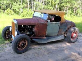 Halfass Kustoms 1931 Model A Roadster Hot Rod