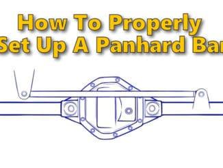 How To Properly Set Up A Panhard Bar