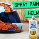 How To Rattle Can Spray Paint a Motorcycle Helmet