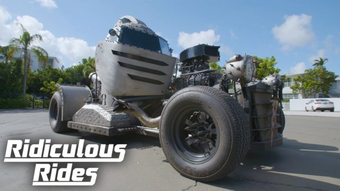 Mad Metal Scientist Builds $200K Helmet Hot Rod