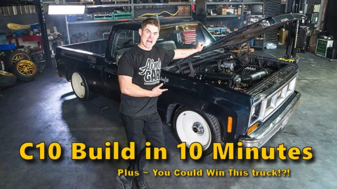 Project Boomhauer 600hp Chevy C10 Giveaway Truck