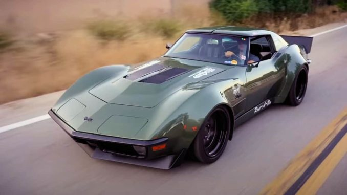 Rambo ~ Garrett Randall's Pro-Touring 1970 Corvette