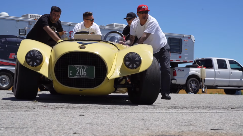 Old Yeller ~ The junkyard racecar that inspired the Shelby Cobra