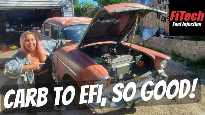 The 1957 Chevy Bel Air Gets an FiTech EFI Conversion