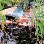The Dan Morehouse Cadillac Collection Koi Pond